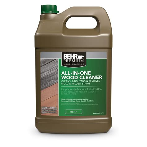 exterior    wood cleaner stripper behr premium
