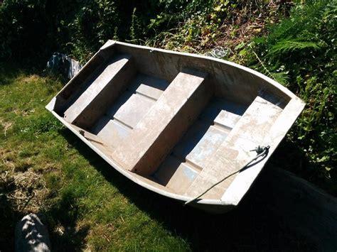 8 Foot Flat Bottom Aluminum Boat Ladysmith Cowichan