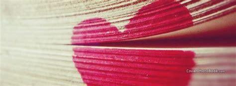 book cute heart love facebook cover love