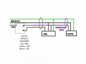 Wiring Diagram 1 Light 1 Switch