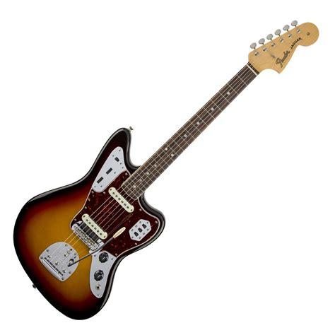American Vintage Jaguar by Fender American Vintage 65 Jaguar 3 Colour Sunburst At