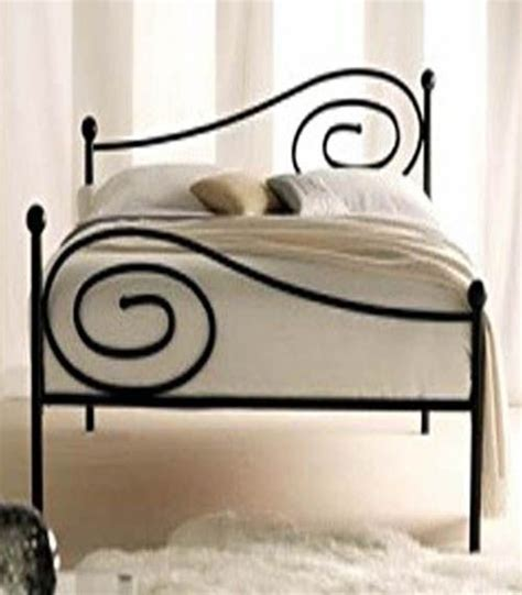 simple wrought iron bed design projects