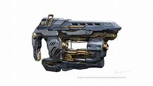 The Art Of Dejan Ostojic: Steampunk Halo 4 weapon concept arts