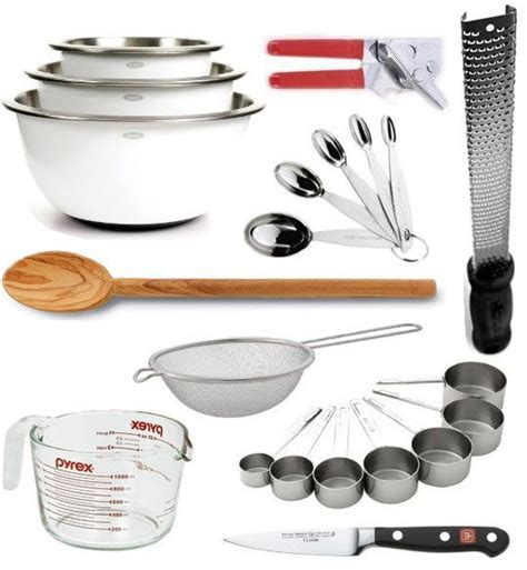 Kitchen Essentials Utensils by 25 Best Ideas About Kitchen Utensils List On