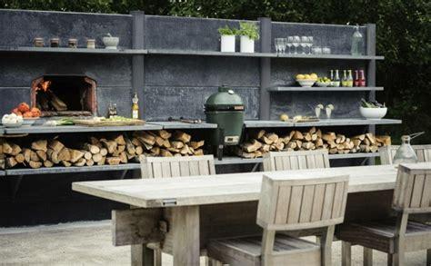 dessertes de cuisine a roulettes barbecue moderne et idées de cuisine extérieure pour l 39 été