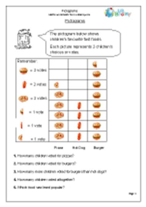 statistics handling data maths worksheets for year 3