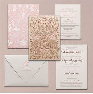 luxury wedding invitations by ceci new york our muse With laser cut wedding invitations online india