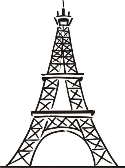 torre eiffel dibujo buscar  google wallpapers en
