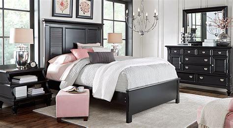 gallery frame set white belmar black 7 pc bedroom bedroom sets colors