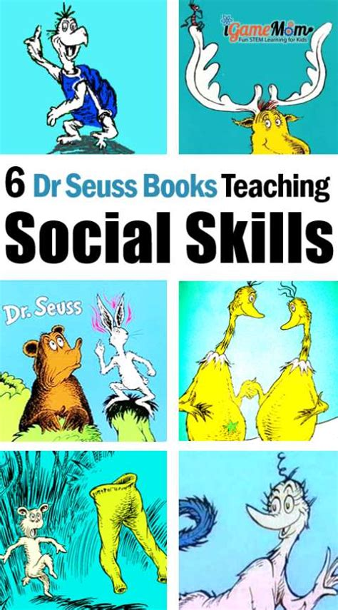 Dr Seuss Books Teaching Kids Social Skills