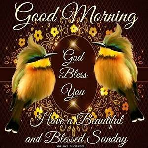 Good Morning God Bless Have A Beautiful Sunday good ...