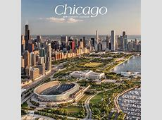 Chicago 2019 12 x 12 Inch Monthly Square Wall Calendar