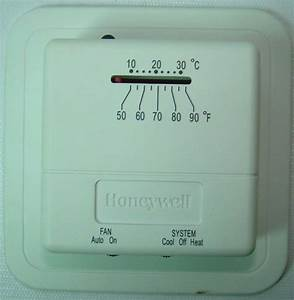 Honeywell Economy Heat  Cool Manual Thermostat Model  Ct31a