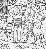 Coloring Pages Birthday American Doll Magazine Special Colouring Dance Printable Drawing Clipart Mckenna Three Games Mario Parties Happy Pony January sketch template