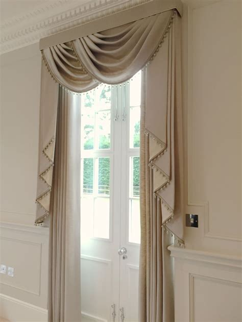 curtains valances and swags we created these stunning luxurious window treatments