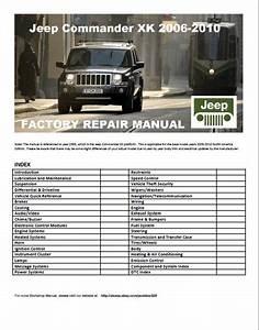 2006 Jeep Commander Xk Service Manual