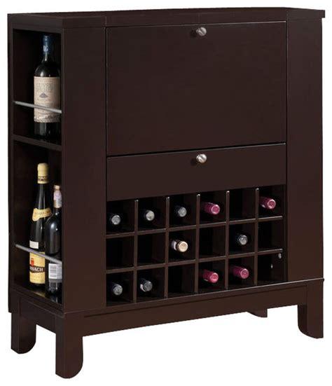 floor and decor atlanta brown fold front shelves wine rack wooden bar