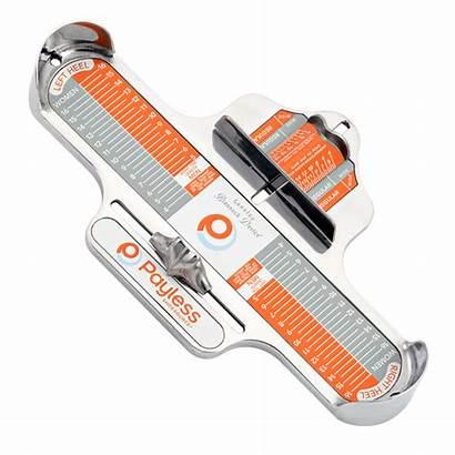 Brannock Foot Device Measuring Payless Orders Shoe