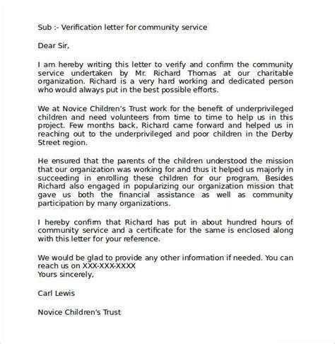 volunteer hours letter community service hours letter template letters font