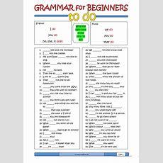 Grammar For Beginners To Do Worksheet  Free Esl Printable Worksheets Made By Teachers
