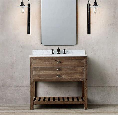 printmakers single vanity sink vanite   lampes