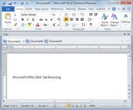 Microsoft Office Word 2010 Free Download