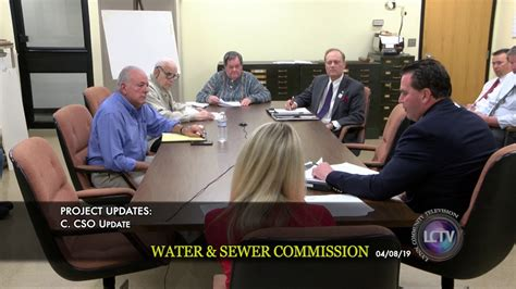 The laurens county water and sewer commission ceremonially broke ground thursday on a project nearly 50 years in the making. Lynn Water & Sewer Commission Meeting | April 8, 2018 ...