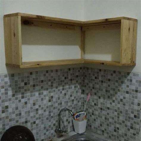 rak lemari dinding kitchen set dapur kayu jati belanda