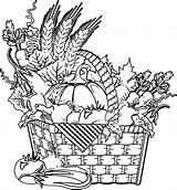 Coloring Vegetable Vegetables Basket Kolorowanki Fruits Fruit Garden Warzywa Dzieci Dla Sayuran Bestcoloringpagesforkids Flower Pobrania Warzywka Sheets Printable Pewarna Printables sketch template