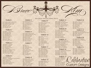 wedding seat chart template seating chart wedding