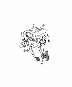 Dodge Ram 1500 Used For  Pedal And Bracket  Brake