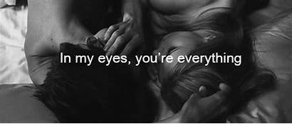 Couples Quotes Animated Everything Together Bed Eyes