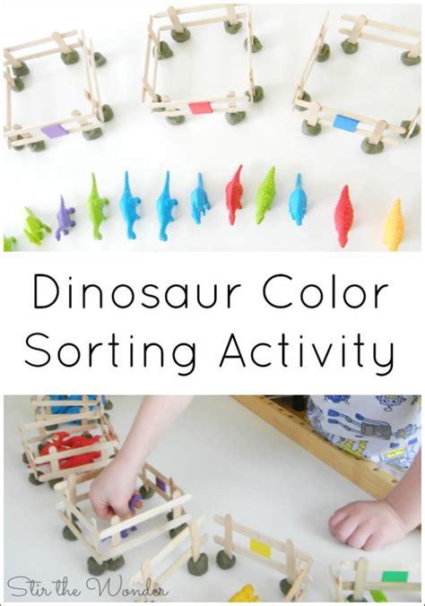 dinosaur color sorting activity sorting activities 997 | d421e9e72a98b4c4955c93ebbdd48f4b dinosaurs preschool dinosaur activities