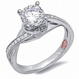 engagement rings dw6876 With wedding rings that are not diamonds