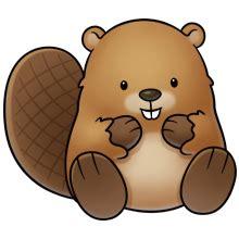 beaver hawaii   cute animal clipart cute cartoon
