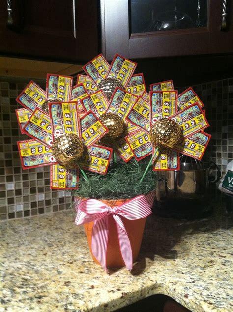 pot lottery ticket basket ideas lottery  gift