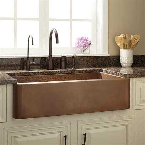 kitchen sinks with backsplash kitchen copper sinks hammered copper backsplash hammered