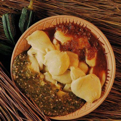 cuisine ivoire kabatôh tôh de mais à la sauce gombo ivorian food cote