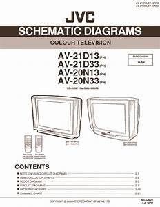 Jvc Jvc C T2091 Av21d13 Pdf Diagramas De Televisores Lcd Y
