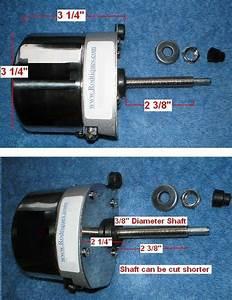 Universal Streetrod Windshield Wiper Motor