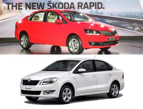 New Skoda Rapid 2016 Facelift