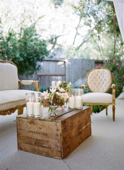 romantic backyard houston wedding modwedding
