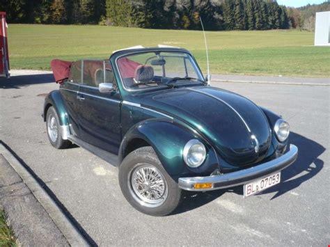 vw käfer cabrio kaufen volkswagen 1303 15 pkw vw k 228 fer cabrio gebraucht kaufen auction premium