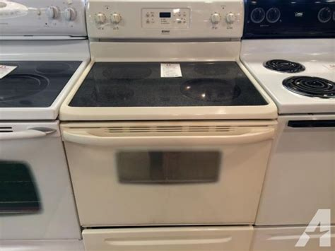 Kenmore Bisque Smooth Glass Top Range Stove Oven How To Cook T Bones On The Stove Stoves Restaurant Wood Burner Northern Ireland Rocket Bbq Hot Plate Make A Double Barrel Electric Burners Dishwasher Safe Outbacker Portable Burning Tent Installing With Back Boiler