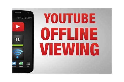 youtube baixar off line ios