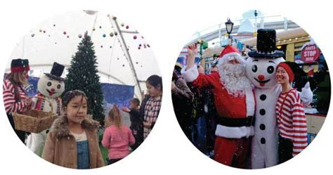 christmas in july winter school holiday fun at luna park
