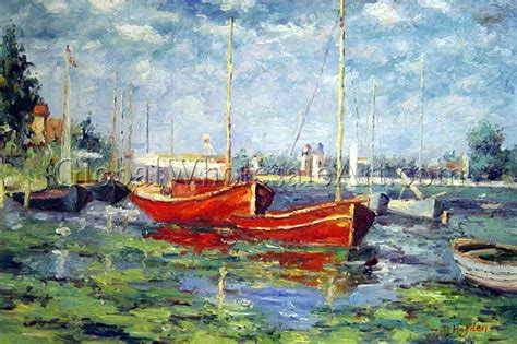 Monet Boats At Argenteuil by Claude Monet Boats At Argenteuil Paintings On