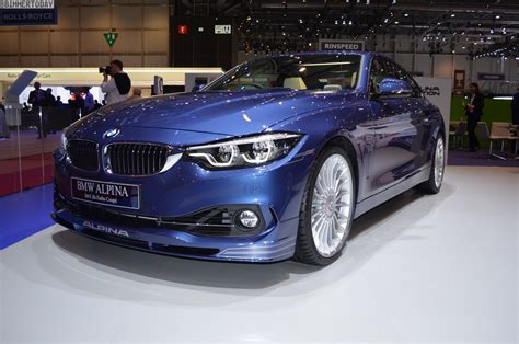 2017 Geneva: BMW ALPINA B4 S with facelift and update to ...