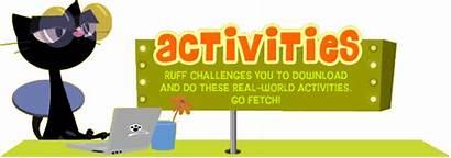 Fetch Activities Games Pbs Ruff Pbskids Figure