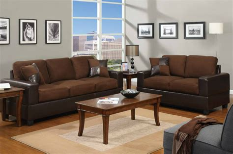 Chocolate Brown Sofa And Loveseat by Brown Leather Sofa And Loveseat Set A Sofa